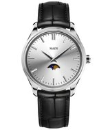 Maen Watch Brooklyn 39 Moonphase Ice Grey Horlogewatch.nl