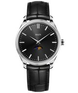 Maen Watch Brooklyn 39 Moonphase Jet Black Horlogewatch.nl