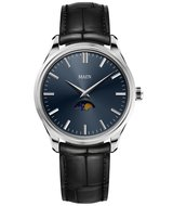 Maen Watch Brooklyn 39 Moonphase Midnight Blue Maanfase Horlogewatch.nl