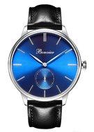 Bonvier Navona Blue Silver BW020 horloge Horlogewatch.nl