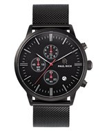 Paul Rich Prime Mesh Chrono Black Horlogewatch.nl