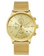 Paul Rich Royce Mesh Chrono Gold Horlogewatch.nl