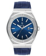 Paul Rich Deep Dive Ocean Blue Leather Signature Horlogewatch.nl