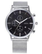 Bregman Monte Carlo BMC-051 Black Silver Chronograaf Horlogewatch.nl