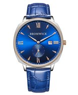 Bromwick Crown Blue Silver Rosegold Horlogewatch.nl