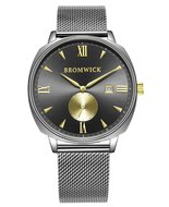 Bromwick Crown Gold Gun Mesh Horlogewatch.nl