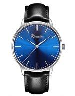 Bonvier Classic Blue Silver Horlogewatch.nl