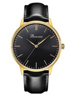 Bonvier Classic Black Gold 40mm Horlogewatch.nl