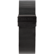 Paul Rich Horlogeband Chrono Black Mesh 22 mm Horlogewatch.nl