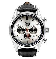 Marchand Tourer Chrono MK2 Black Strap Horlogewatch.nl