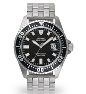 Detomaso San Remo DT1025-A Silver Black Automaat Horlogewatch.nl