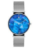 Paul Rich Glam Heart Of The Ocean Silver Mesh Horlogewatch.nl
