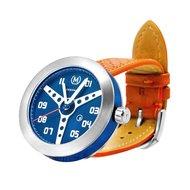 Marchand Blue With Orange Strap Debonair Horlogewatch.nl