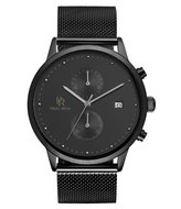 Paul Rich Comet Cosmic Black Mesh Horlogewatch.nl