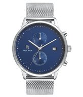 Paul Rich Orion Cosmic Blue Silver Mesh Horlogewatch.nl